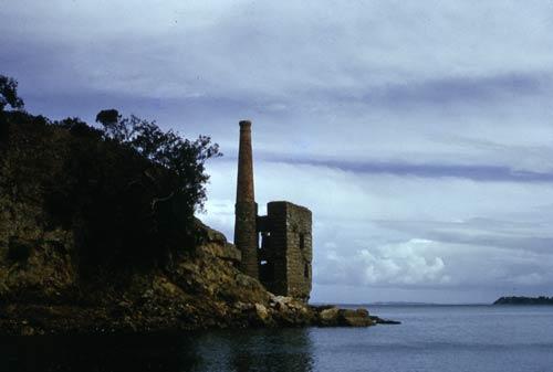 Copper mine engine house, Kawau Island