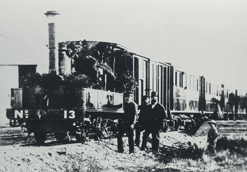 Opening the branch line