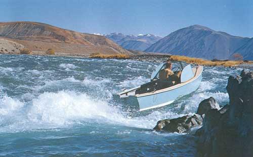 Jet boating