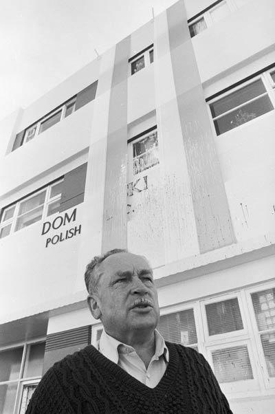 President of Wellington's Polish community, 1986