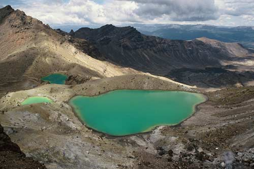 Emerald Lakes, Tongariro