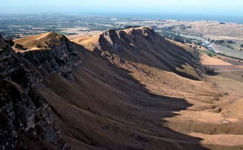 Limestone ridges, Hawke's Bay