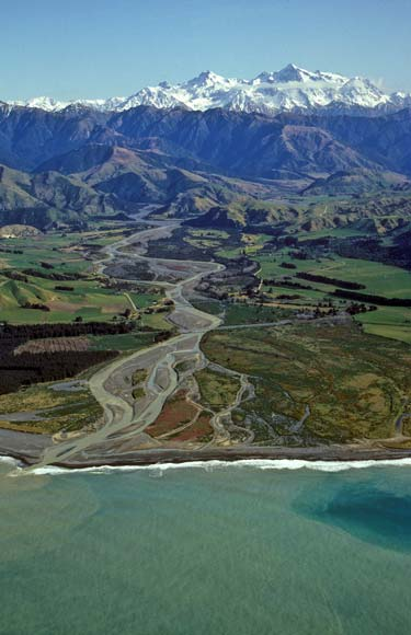 Clarence River at the coast
