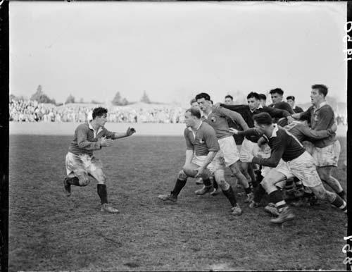 Wairarapa–Bush rugby game