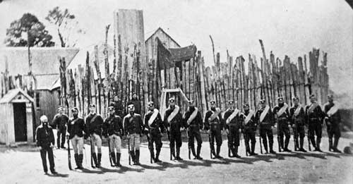 After Te Kooti and his men killed a number of colo...