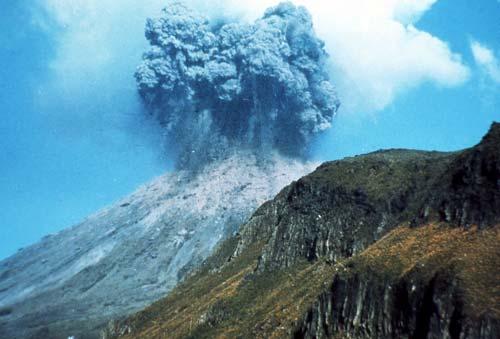 Ngāuruhoe eruption, 1974