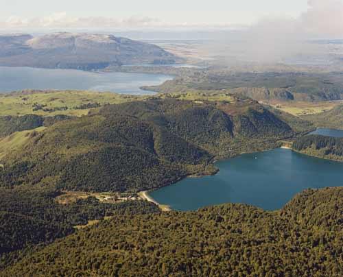 Lakes Tikitapu, Tarawera and Rotomahana