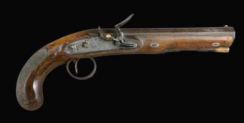Jacky Guard's pistol