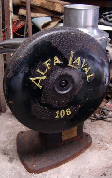 Alfa Laval cream separator