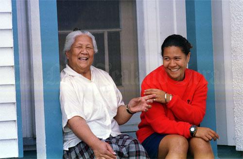Jemaima Tiatia and Suresa Gavet