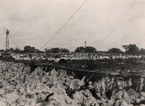 Nauru after phosphate mining
