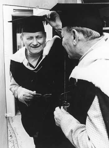 Julius Fenyves graduates