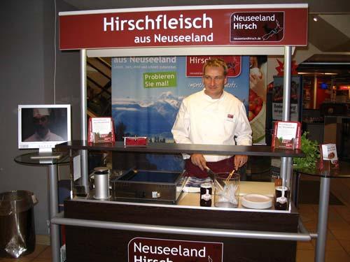Marketing venison in Germany