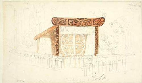 Waitohi's tomb