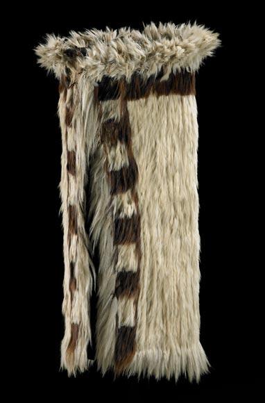 Dogskin cloak