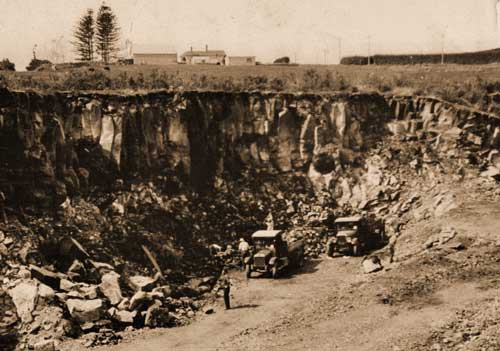 Mt Wellington Quarry Auckland Places Te Ara Encyclopedia Of New