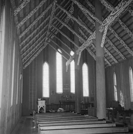 Interior view of Rangiātea