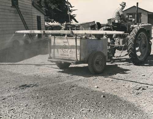 Spray equipment, 1939