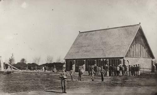 Christ's College, 1867
