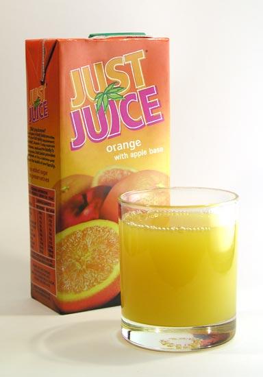Apple-and-orange juice