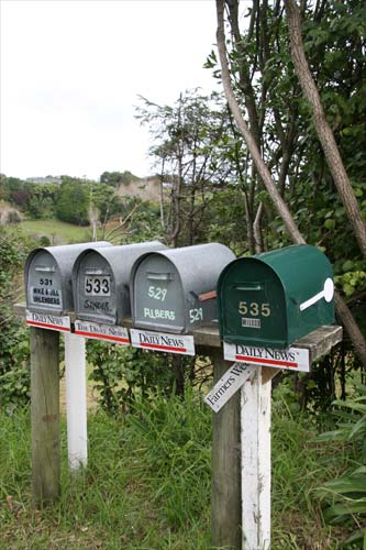 Rural delivery letterboxes