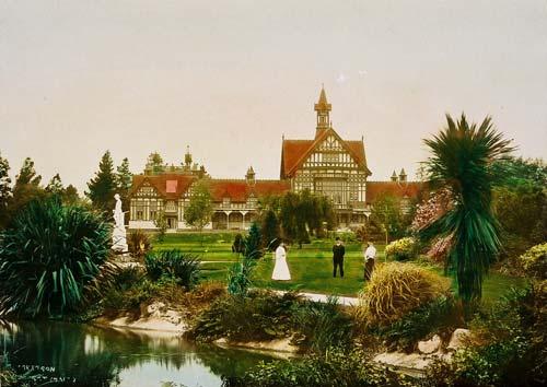 Rotorua Government Gardens, around 1910