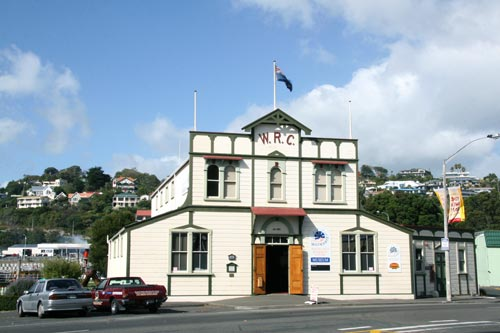 Wanganui Rowing Club building