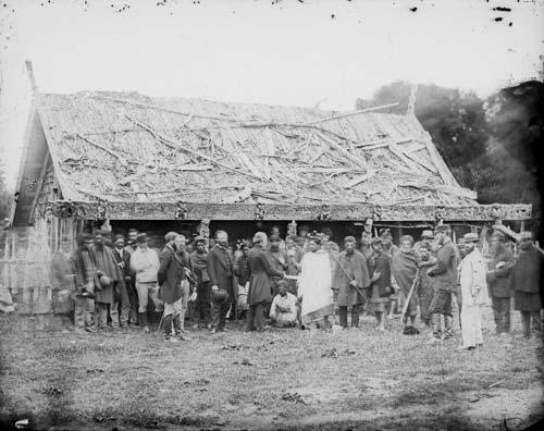 Meeting at Pūtiki, May 1864