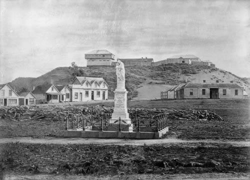 Moutoa battle memorial, 1860s
