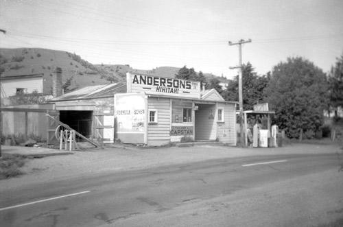 Store closure at Hīhītahi, 1964