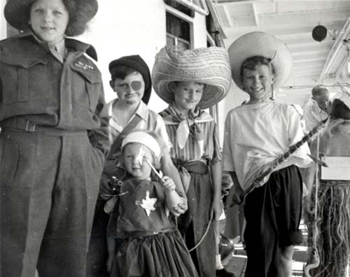 Children of war brides, 1947
