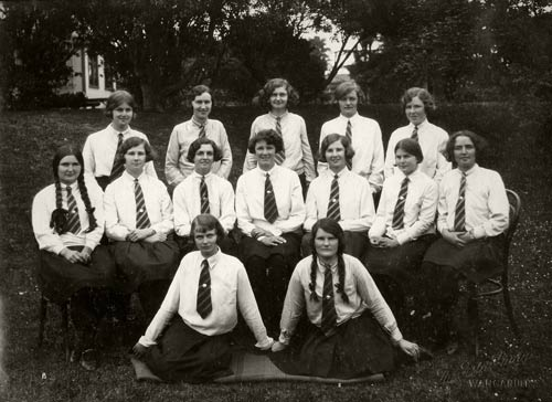 Wanganui Girls' College prefects, 1931
