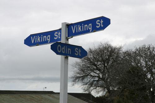 Norsewood street names