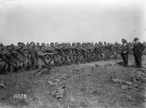 Pioneer Battalion, 1918