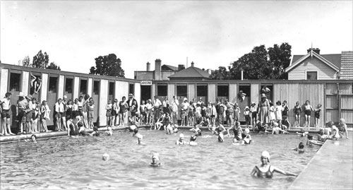 Rangiora Swimming Pool Country Towns Te Ara Encyclopedia Of New Zealand