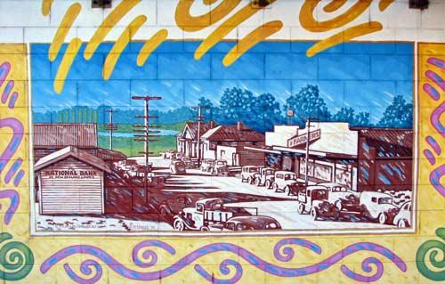 Katikati mural.