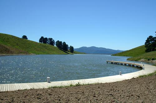 Dam water storage