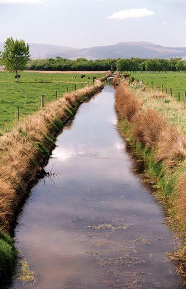 Open drains
