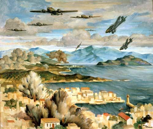 The blitz, Crete, 1941