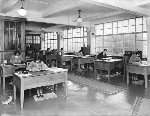 Public servants at work