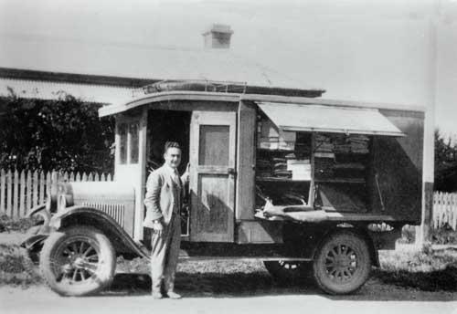 Joe Farry and his van