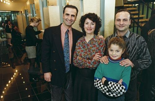 The Harach family, Wellington, 1992