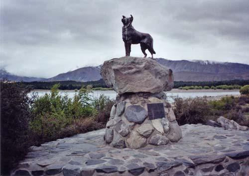 The sheepdog memorial, Lake Tekapo