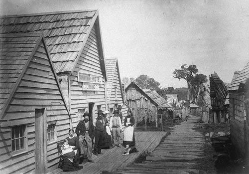 Canton village.
