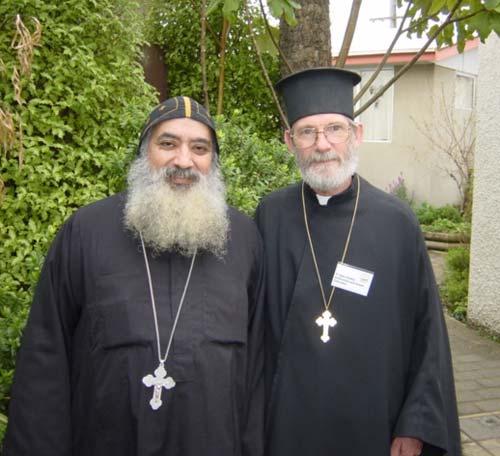 Father Felimoun Baramoussy and Father Ilyan Eades
