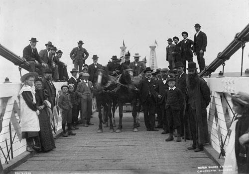 Clifden bridge, 1899