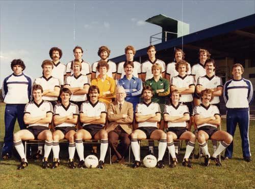 All Whites football team, 1981