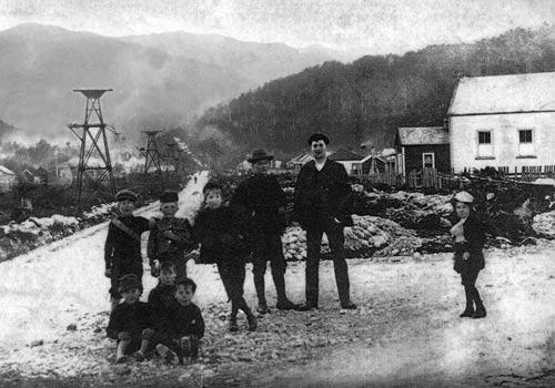 Blackball miners, 1908