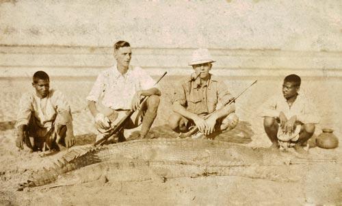 Edward Hodsell, the game hunter