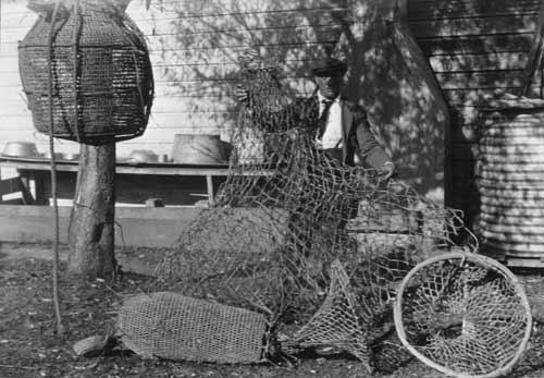 Whanganui Māori fishing nets